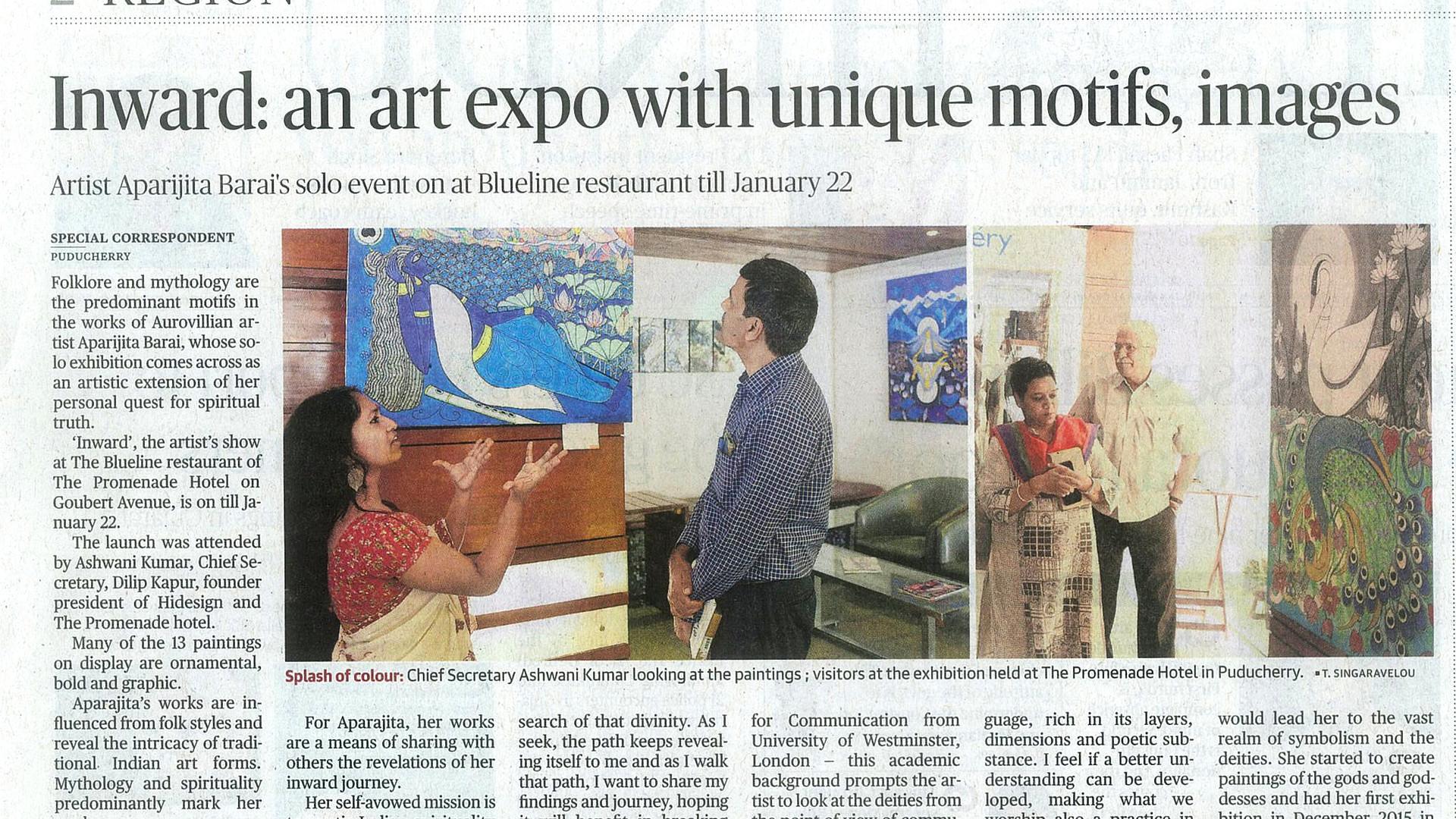 The Hindu | Puducherry | Jan 10, 2019