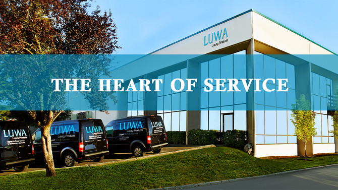 THE HEART OF LUWA SERVICE