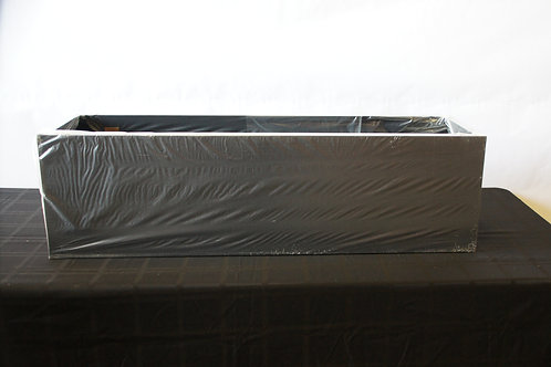 "42""W x 12""D x 12""T Black Island Duct Cover"