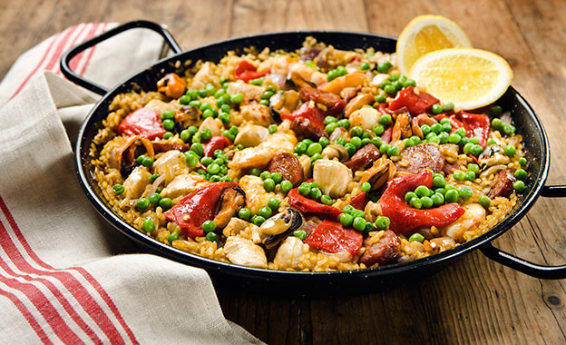 Summer Sizzlers - Chef Luis's Grilled Paella