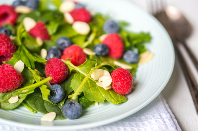 Holidays on the Grill - Chef Luis's Berry Medley Salad