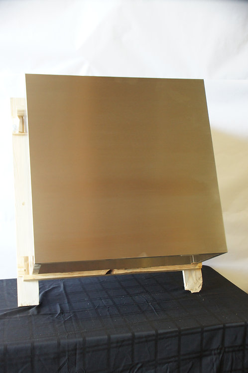"""30""""W x 15""""D x 30""""T SS Island Duct Cover"""