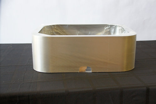 "18""W x 15""D x 6""T SS Island Duct Cover for IZTH"