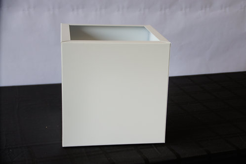 "12"" X 12"" White Island Duct Cover"