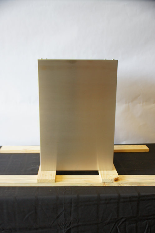 "15"" x 22"" SS Island Duct Cover"
