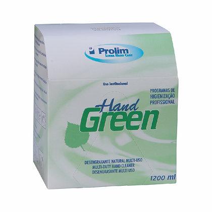 REFIL SAB. 1200ML HAND GREEN DESENGRAXANTE