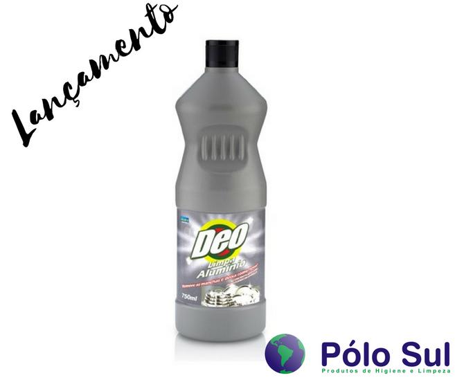 LANÇAMENTO - Limpa Alumínio Deo 750 ml