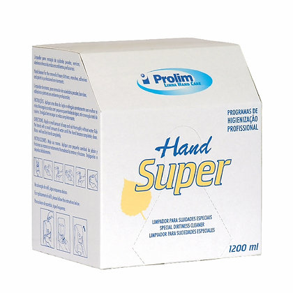 REFIL SABONETE 1200ML HAND SUPER TINTAS/VERNIZES