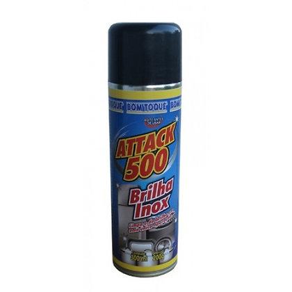 ATTACK 500 300 ML BRILHA INOX AEROSOL