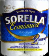 PAPEL TOALHA COZINHA  SORELLA  PACOTE COM 02 ROLOS