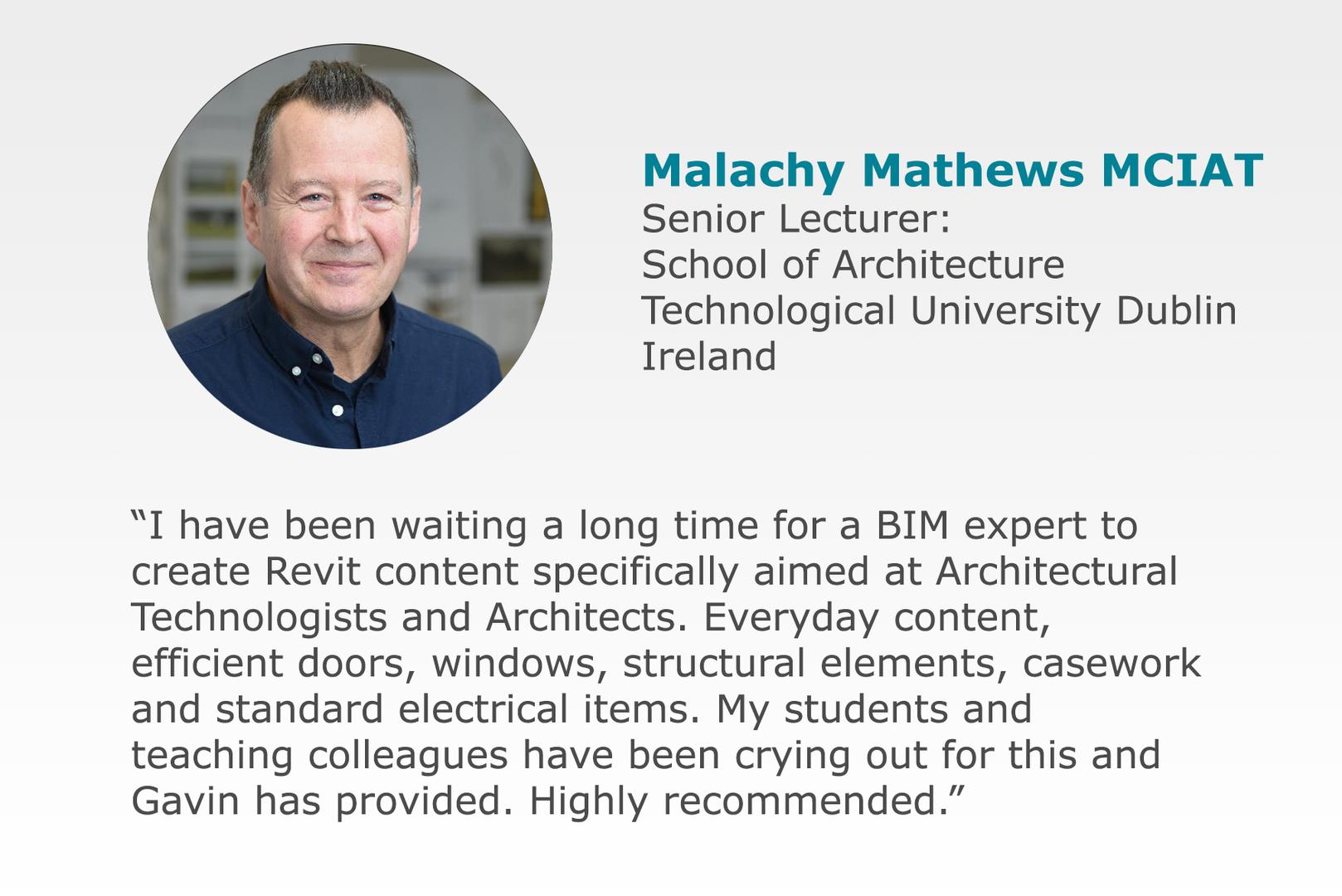 Malachy Mathews