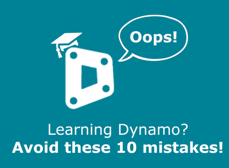 Learning Dynamo? Avoid these 10 mistakes!