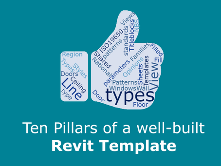 Ten pillars of a well-built Revit Template