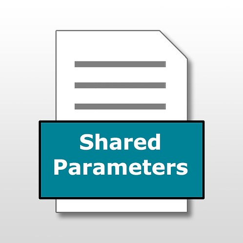 Shared Parameters File