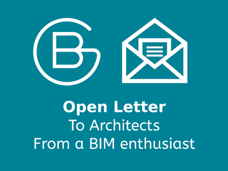Open Letter to architects