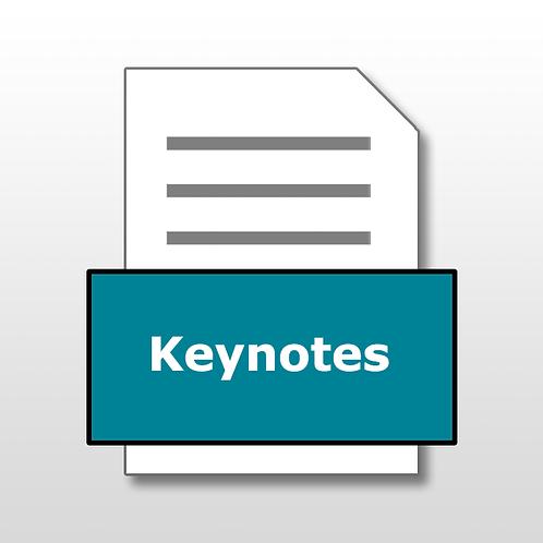 Keynotes File