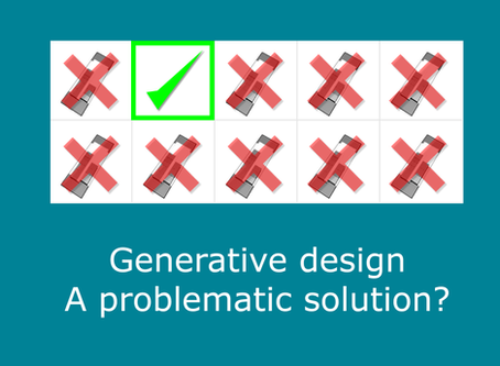 Is generative design a problematic solution?