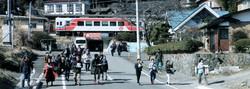 19年2月24日の三陸鉄道災害学習列車