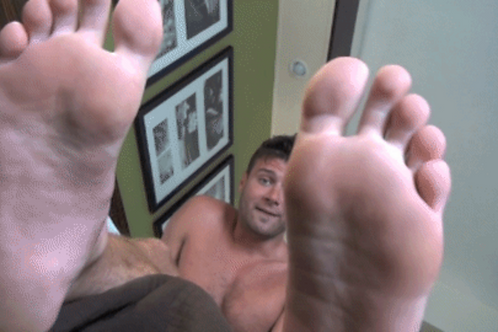 Cody's Big Smelly Foot Tease