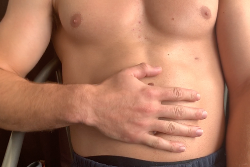 Adam's Belly Bloat & Swallowing Tiny