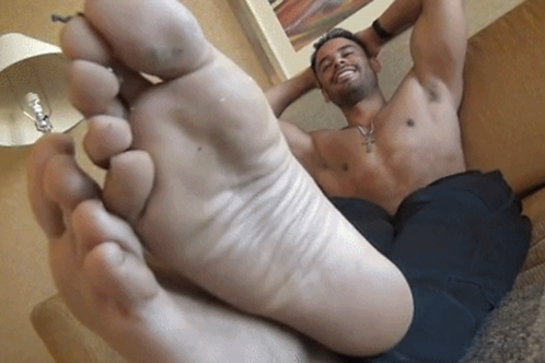 Emilio Foot Tortures Inch Tall Son
