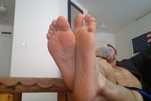 Mark's Big Epic Foot Tease
