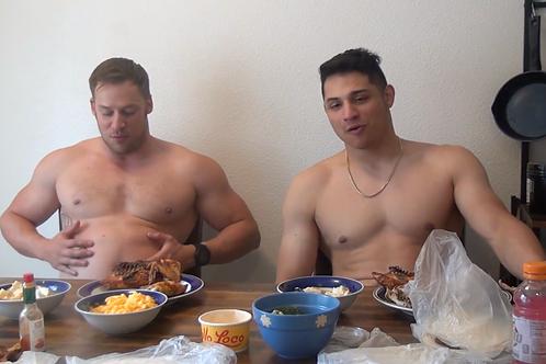 2 Hot Jocks Food Stuff & Belly Bloat