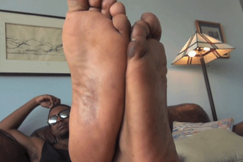 Calvin Dominates You with Smelly Feet