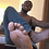 Thumbnail: King Flex Dominates with his Big Black Socks & Barefeet