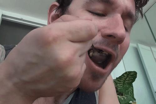 Brett Drops Tiny Roommate in Cereal