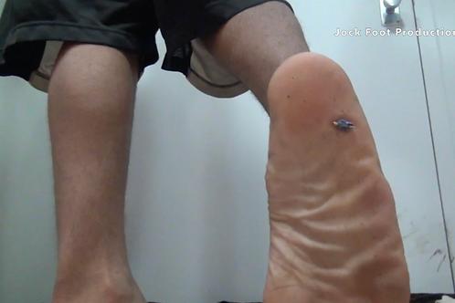 Dwayne's Unaware Foot Crush