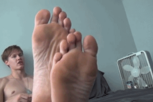 Scotty's Big Smelly Foot Tease