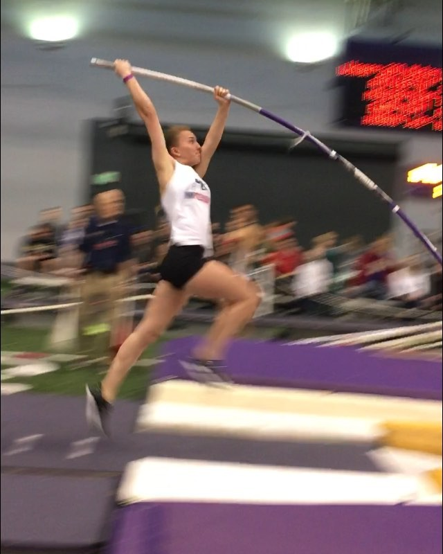 Nice 12'1_ PR for Kim today in the Husky