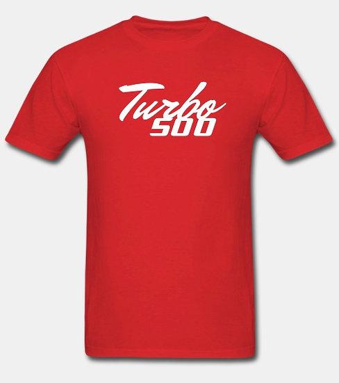 Turbo 500 red & white tornado