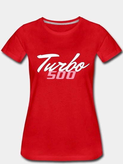 Turbo 500 red white and pink tornado