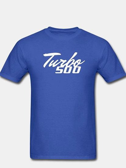 Turbo 500 royal blue & white tornado