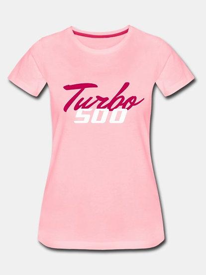 Turbo 500 pink & white & purple