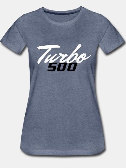 Turbo 500 heather blue & black tornado
