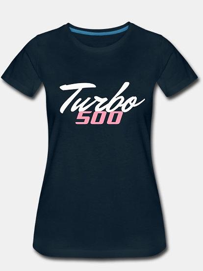 Turbo 500 dark blue & pink tornado