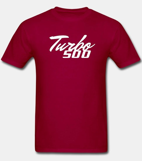 Turbo 500 dark red & white tornado
