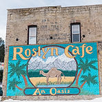 Roslyn Cafe Food also prominently shown