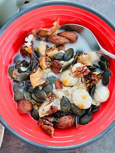 Muesli noix, graines et fruits secs (7 portions / 7 jours)