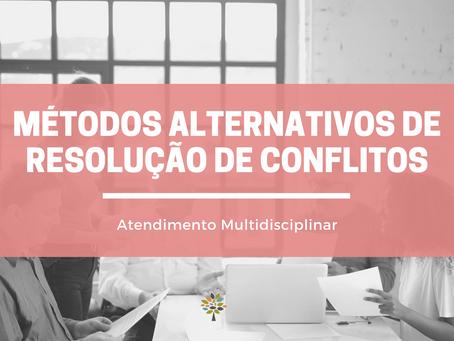 Métodos alternativos de resolução de conflitos familiares