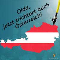 Österreich trichtert. Endlich!