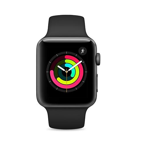 Apple Watch Series 3 (GPS) - 42 mm - space grey aluminium