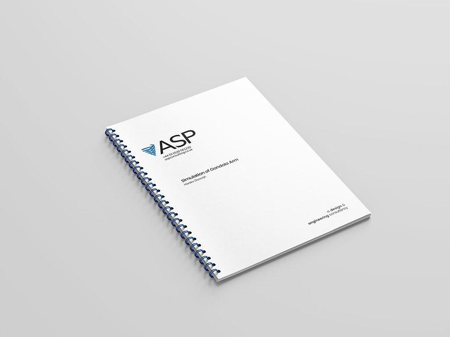ASP Consulting report mockup.