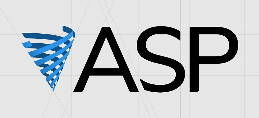 ASP Logo with guides.