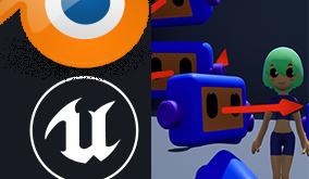 初心者からプロまで!Blender2.8x・Unreal Engine 4ハンズオン動画講座の販売開始