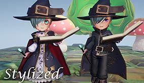【Stylizedシリーズ】Wizardアセット 販売開始!