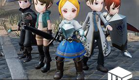 Stylized Character 大集合!アセット販売